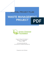 Wastemanagement Official Project Plan