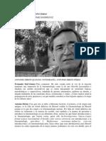Entrevista con Antonio Zirión Quijano