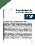 08 - Deontologia de La Profesion Docente