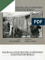 """""""Panorama Geoetnico de Las Artesanias en El Estado de Hidalgo"""", autor"""