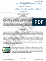 Ai for Speech