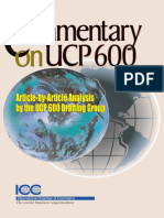 ICC Commentary on UCP 600