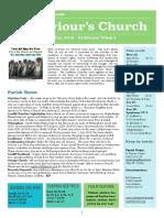 st saviours newsletter - 21 jan 2018