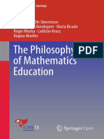 The Philosofy of Mathematics Education