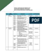 Jadwal Kegiatan Kkn Tematik 2016 Kel 23