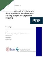 study radiometric variations