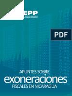 Apuntes Exoneraciones Fiscales Nicaragua IEEPP
