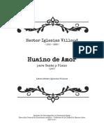 Huayno de Amor - Iglesias Villoud