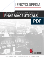 Pharmaceuticals Kpi Encyclopedia Preview
