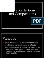 Glide Reflections and Compositions