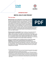 Mental Health in Prison - WHO_ICRC