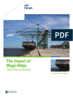 The Impact of Mega-Ships (the Case of Jakarta)
