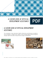 Official Development Assistance