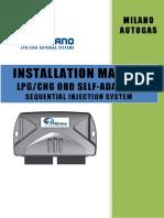 Instalation Manual Fratelli