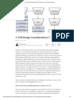 !! COA Design Considerations !!