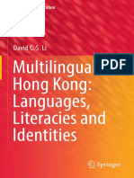 David Li - Multilingual Hong Kong - Languages Literacies and Identities