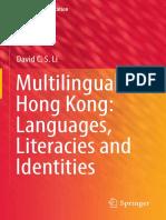 David Li - Multilingual Hong Kong - Languages Literacies and Identities