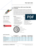 Listed Gel Free LSZH LT Cable LL Series
