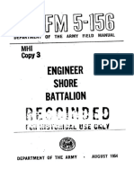 FM5-156 Engineer Shore Battalion 1954