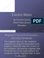 Electric Motor Pari