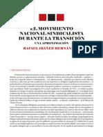El Nacionalsindicalismo Transicion