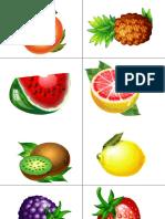 Jetoane fructe legume