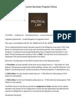 Greco Belgica vs Executive Secretary Paquito Ochoa _ Uber Digests