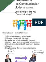 Process Communication Presentation PCM Englishppt