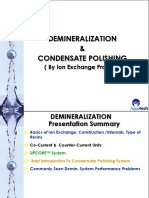 Demineralization and Condensate Polishing Basics