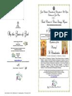 2018-9 FEB - Mat-Div Lit Hymns - ST CHARALAMBOS & Apodosis Meeting