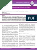 Epileptic seizures in neurodegenerative dementia syndromes