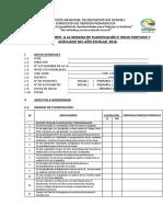 Ficha de Monit Planificación -2018