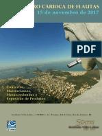 2 Encontro Carioca Flautas Programacao 2017