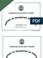 Manual of Delegation Power