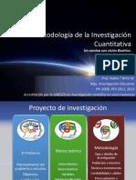 Metodología de La Investigación Cuantitativa