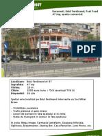 Bucuresti Ferdinand 97, Fast Food, 47 Mp