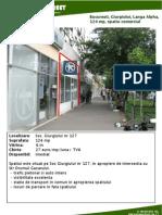 Bucuresti, Giurgiului, Langa Alpha Bank, 124 Mp