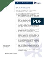 Ugandan Banks_BUY Stanbic_HOLD DFCU