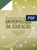 Experimentações Etnográficas Em Antropologia Da Educação - Editora Fi
