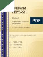 825744007.Derecho Privado I BOLILLA II Fuentes Del Derecho Civil Comercial y de Consumo