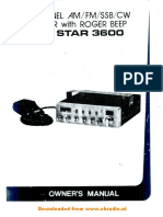 Superstar 3600 FR Manual