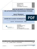 87836 CCTP Lot 01 Terrassements VRD