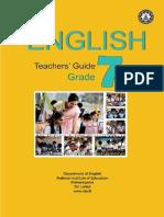 Grade 7 Teacher Guide for English