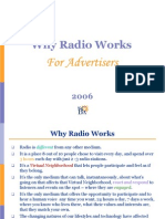 Radio Advertising Ppt 1