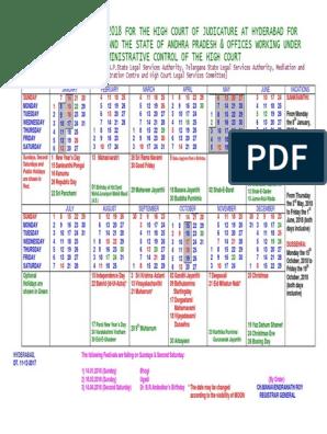 Court Calendar Court Calendar : Mercury Retrograde