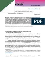 Rocha, Renata. Anais. Políticas Culturais Na América Latina...