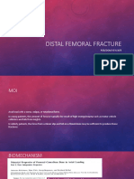 Distal Femoral Fracture POB