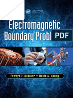 Electromagnetic Boundary Problems - Edward F. Kuester