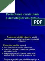 11.Proiectarea Activitatilor Educative