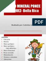 Campo Mineral Ponce Enríquez- Bella Rica
